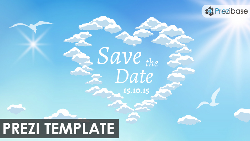 wedding invitation marrige prezi template