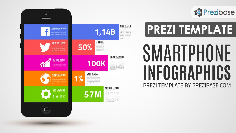 smartphone iphone mobile marketing business display prezi template