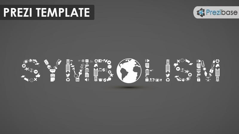 3d symbolism icons sign language prezi template