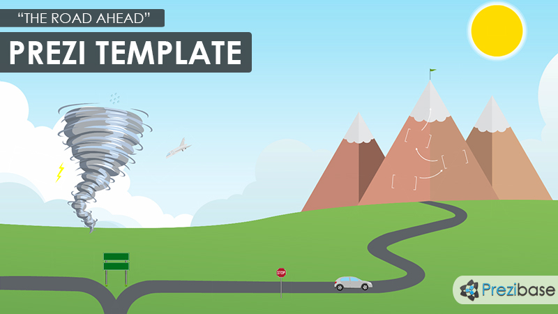 The Road Ahead Prezi Template  Prezibase
