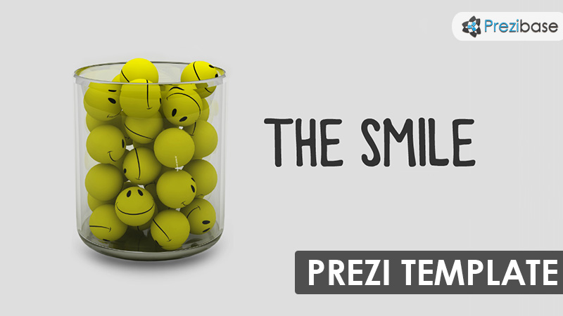 the smile 3d prezi template smileys in cup
