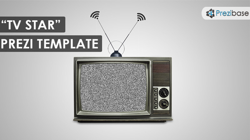 TV Star Prezi Template | Prezibase