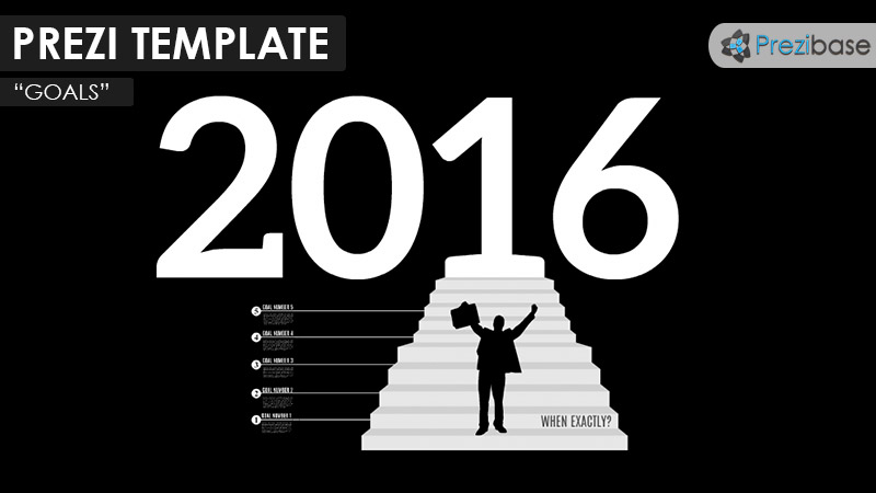 new year resolution prezi template personal business goals