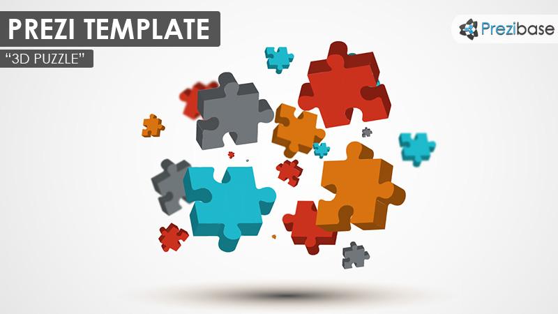 3d jigsaw puzzle prezi template