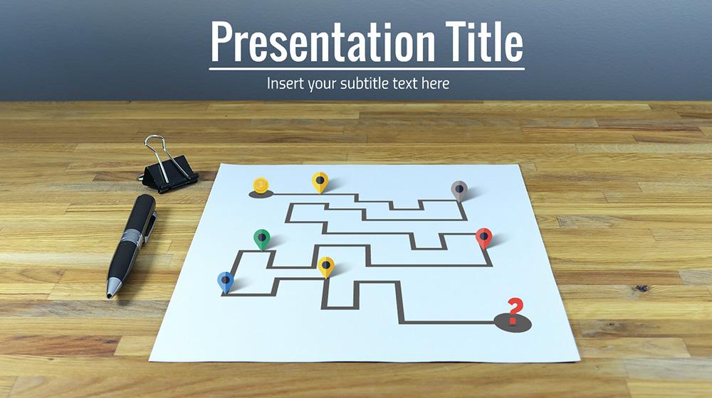 Prezi timeline and milestones presentation template