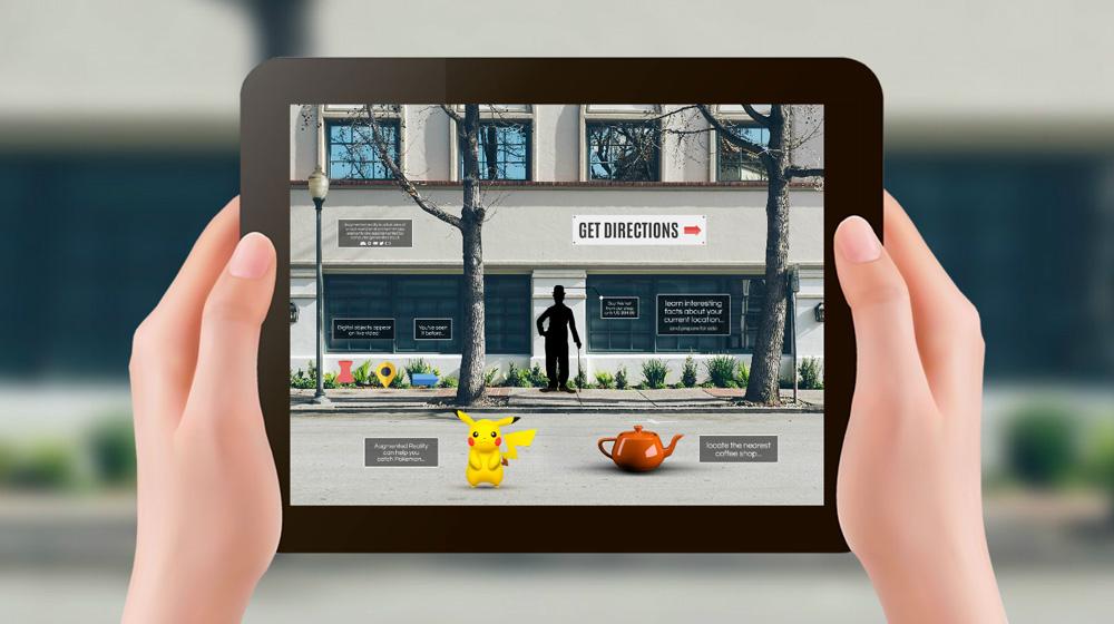 augmented reality technology pokemon prezi template for presentations