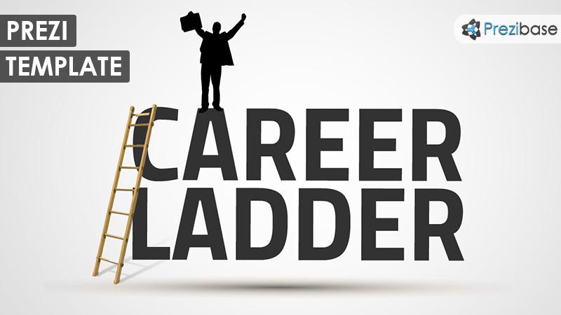 3d business job career prezi template businessman 3d