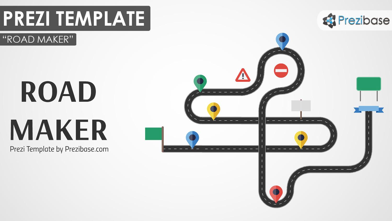 custom road maker builder prezi template