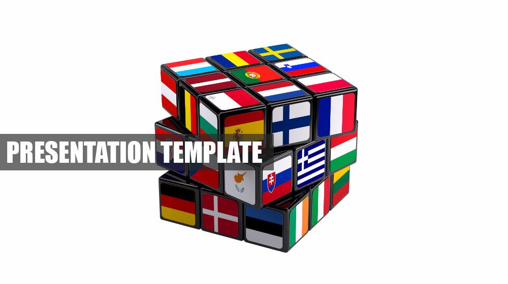 European Union Creative 3D Prezi presentation template