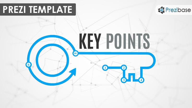key points prezi template