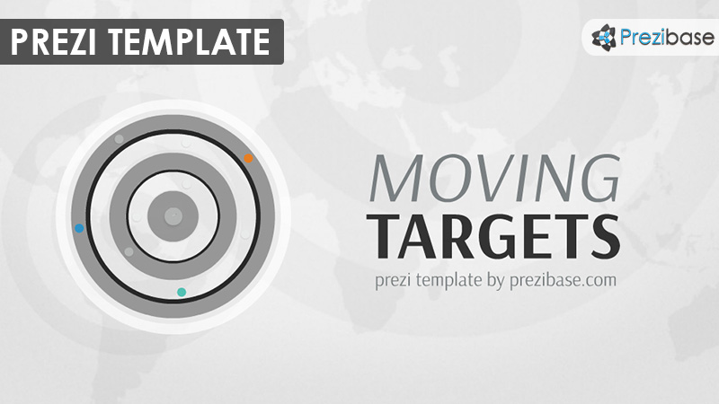 target 3D business company reports prezi template