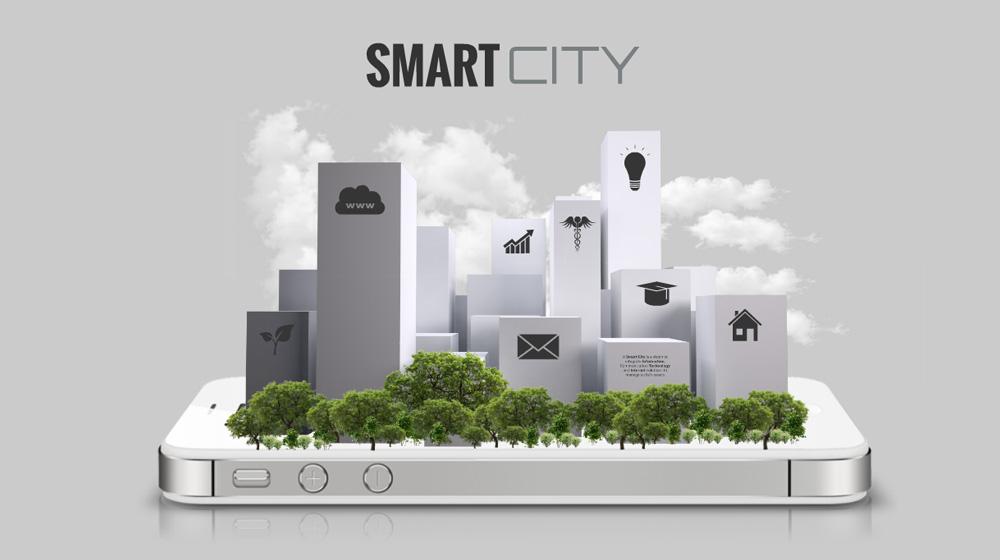 Smart City 3D future vision technology of cities Prezi Presentation Template