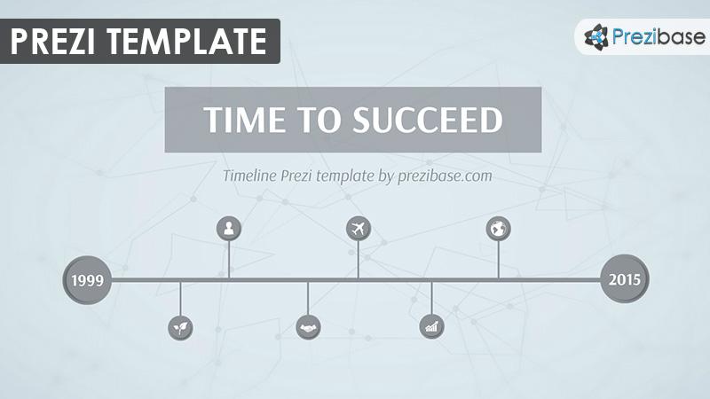 business timeline prezi template