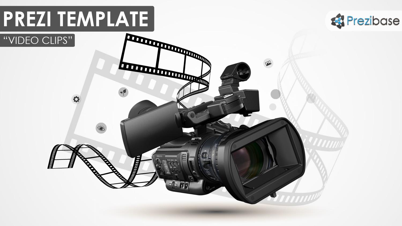video movie cinema filmmaking camera prezi template