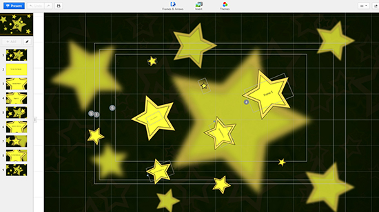 stars prezi template download