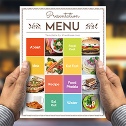 food-menu-prezi-template