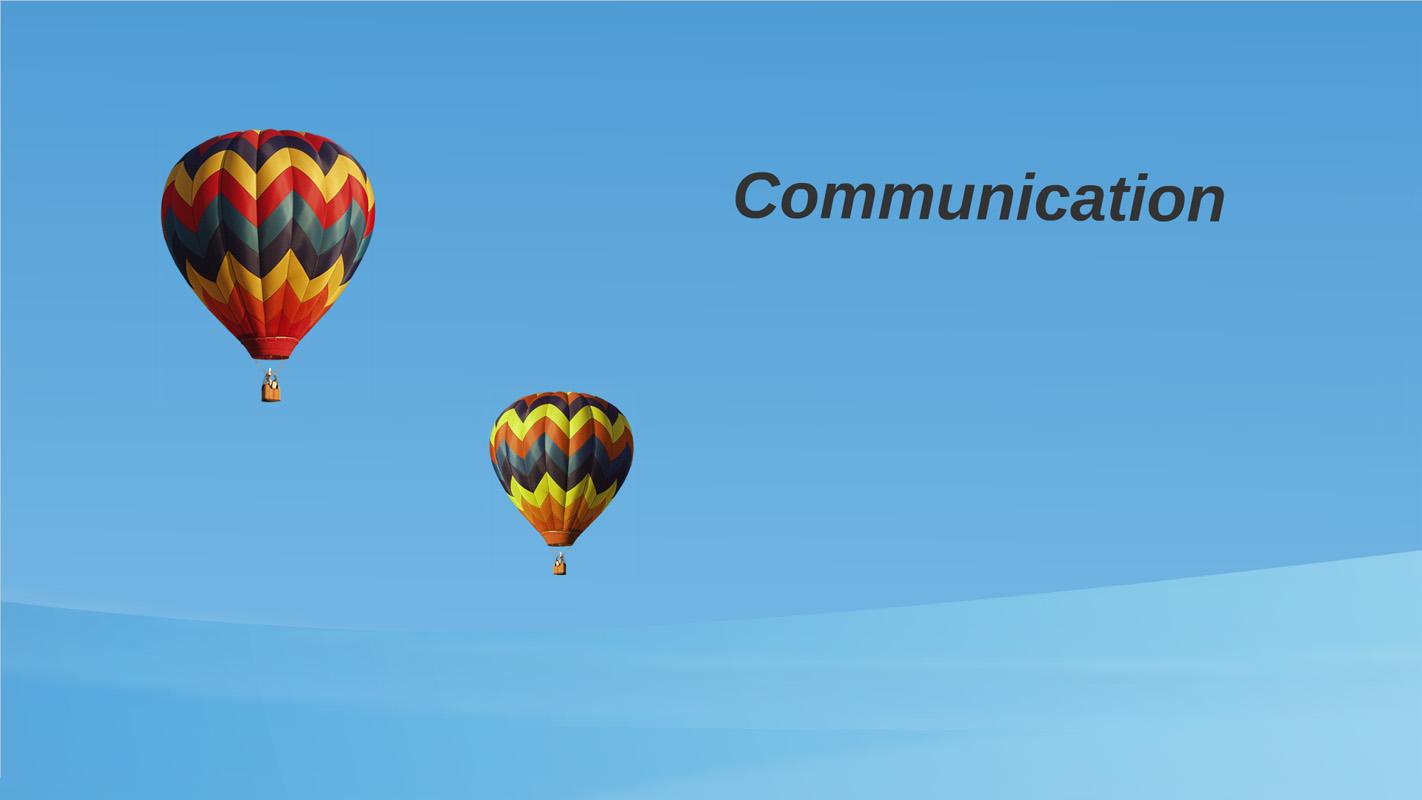 Prezi Template about communication