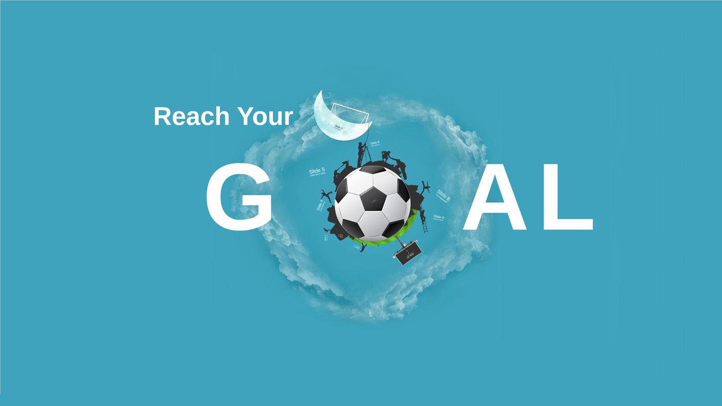 Reach Your Goal Prezi Template