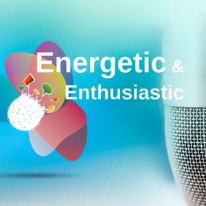 Energetic and Enthusiastic - Prezi Template