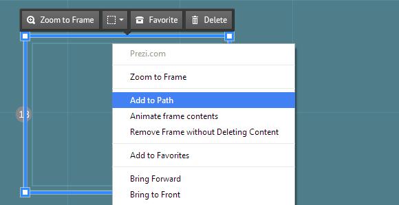 Prezi – Can\'t Add Frame to Path! [SOLVED] | Prezibase