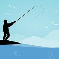 fishing template