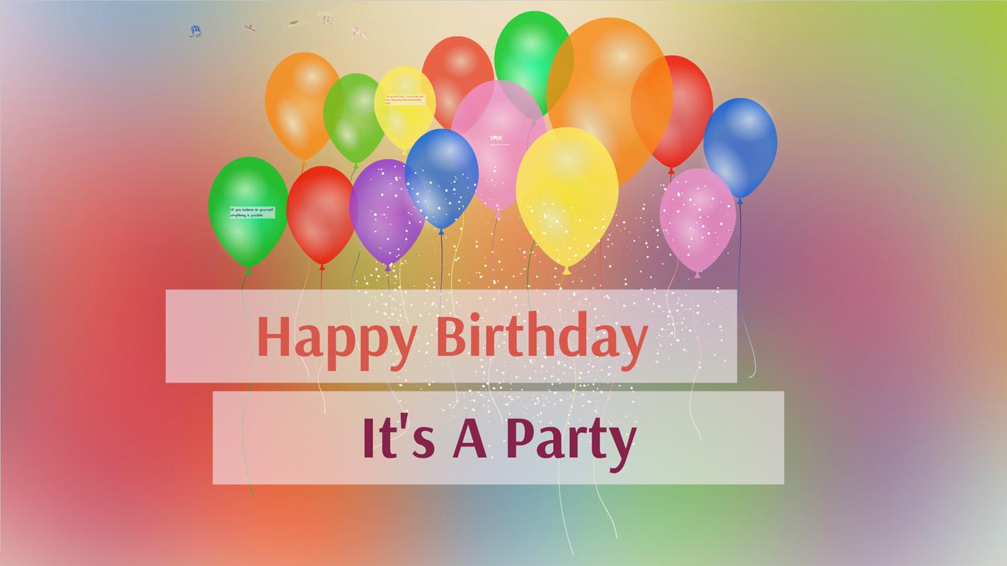 Celebration Time, Let's Party