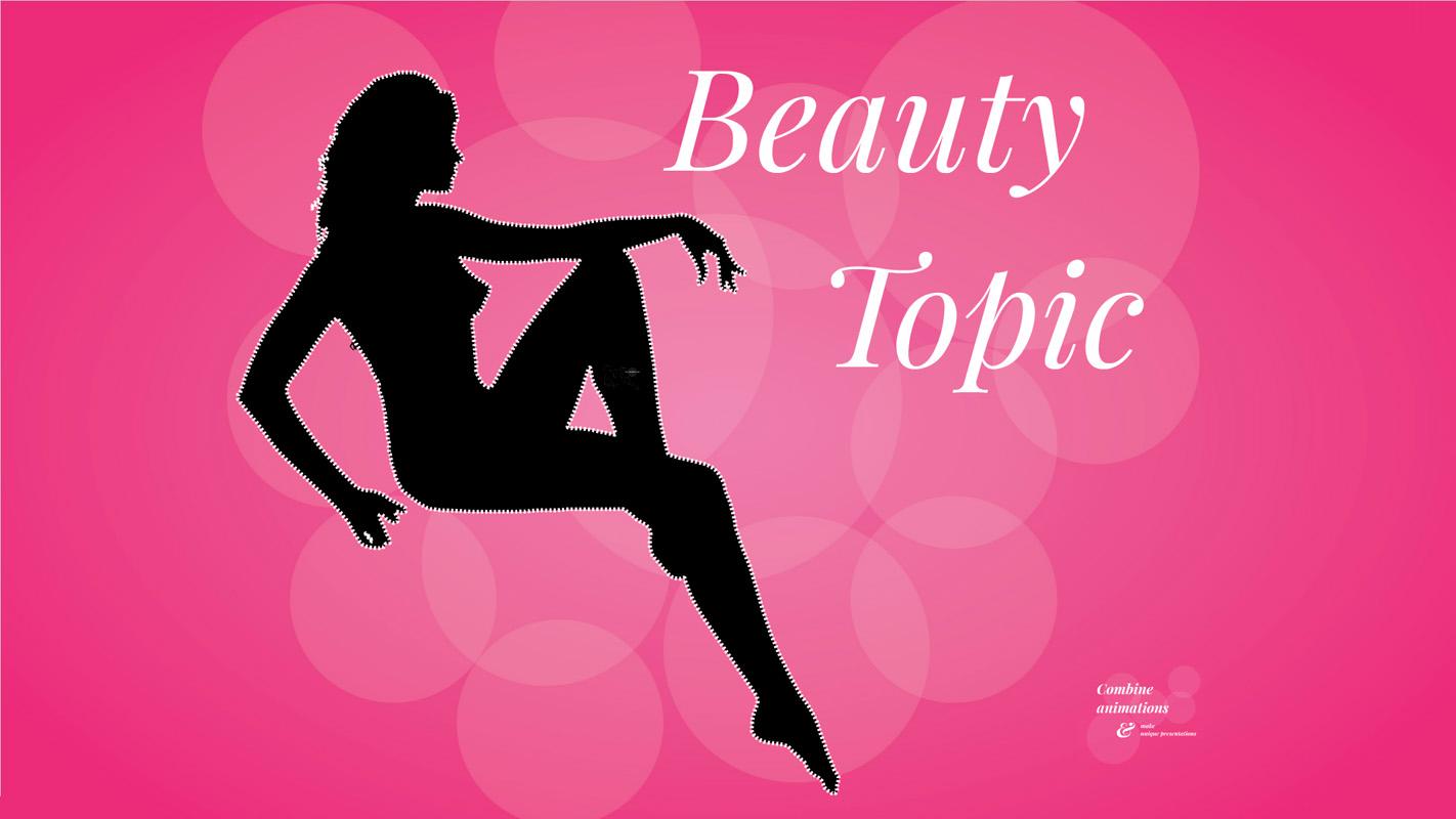 Beauty topic Prezi template