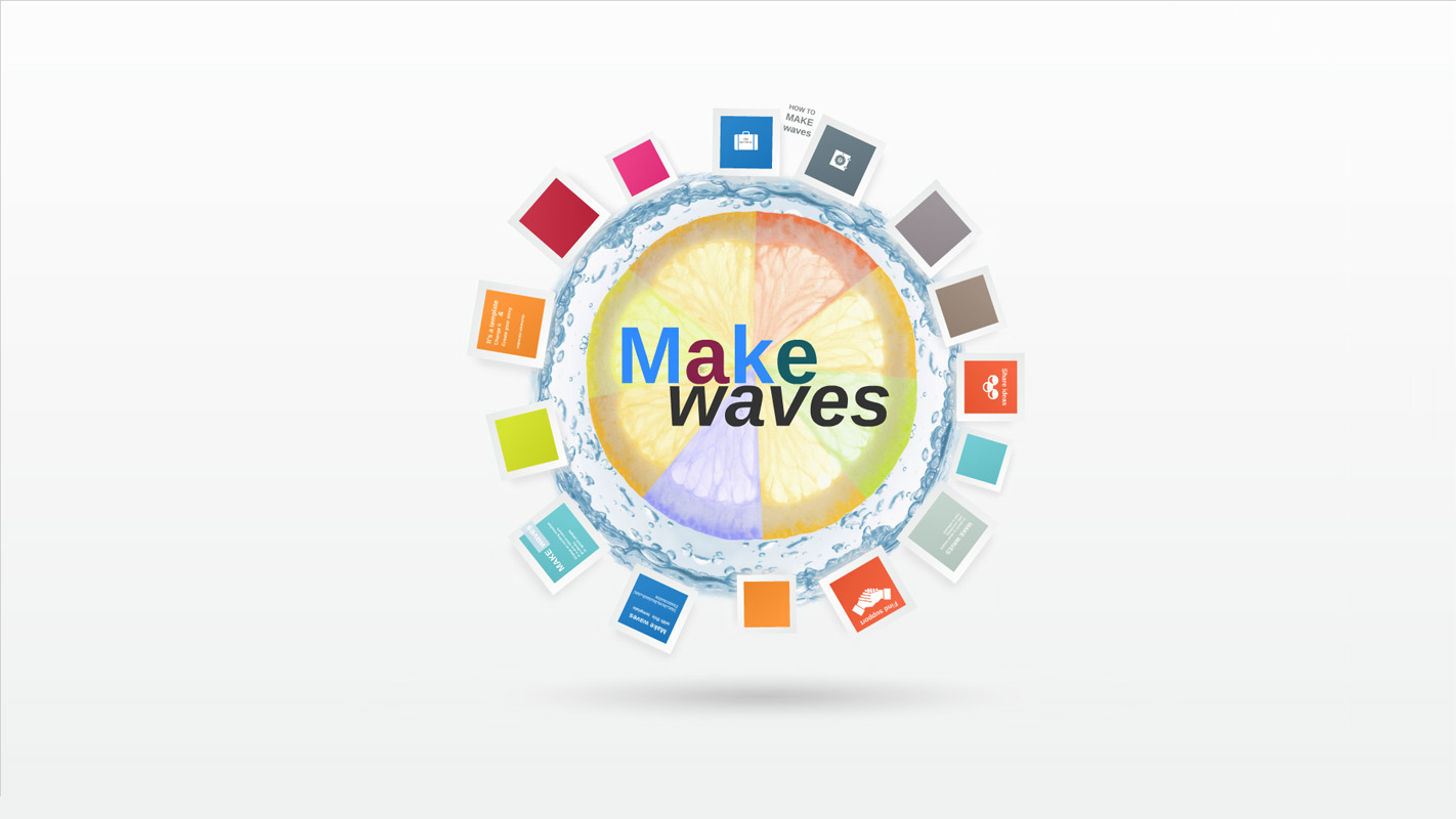 Make Waves Prezi Template