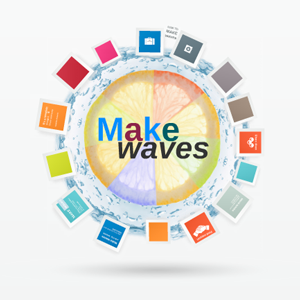 Make Waves - Prezi Template