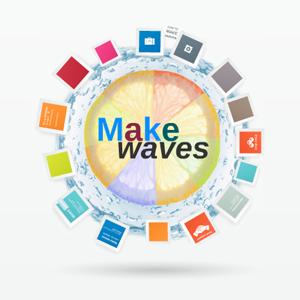 Make Waves - Prezi Template