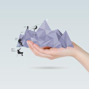 Move mountains - Prezi Template