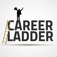 career-ladder-business-company-job-template