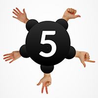 5-reasons-count-fingers-hand-prezi-template