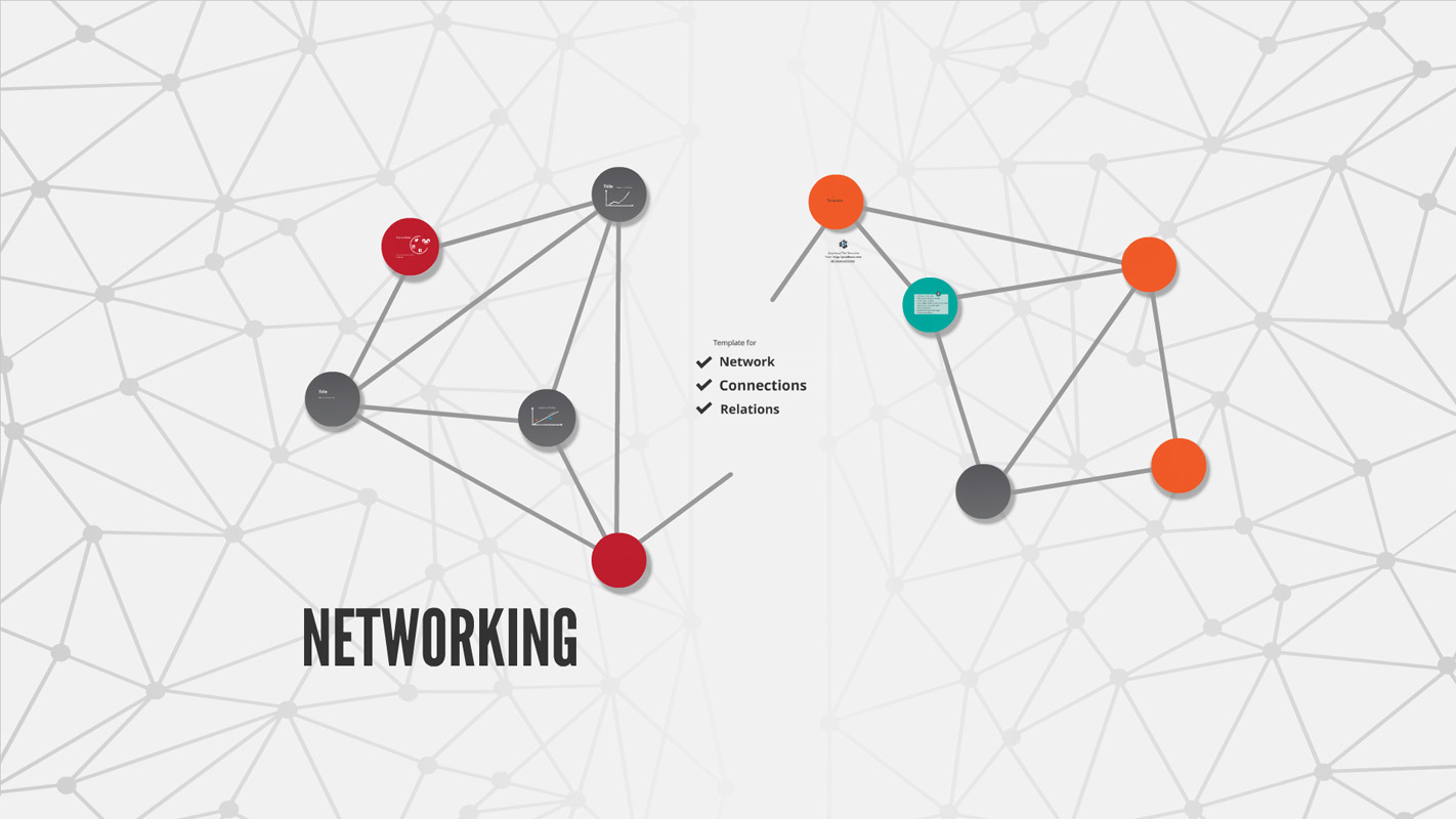 presi templates - networking prezi template prezibase