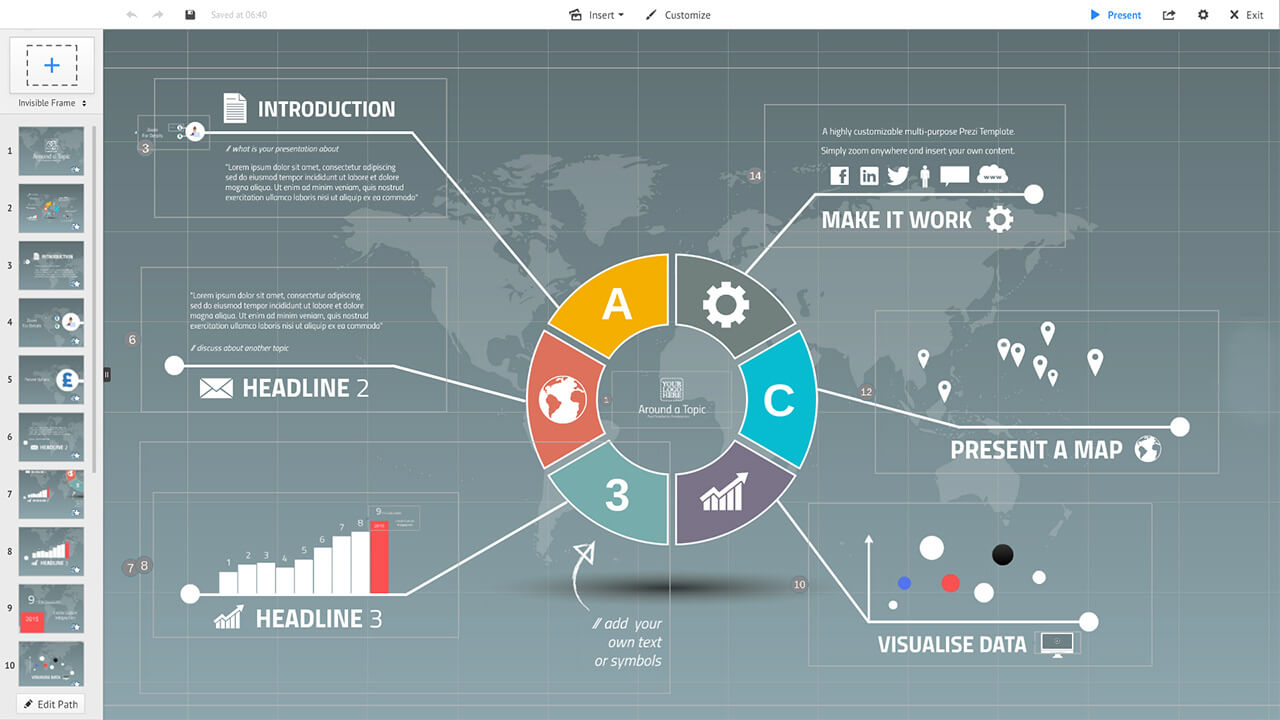 professional-business-world-circle-diagram-infographic-company-prezi-template-for-presentation