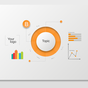 Circle Diagram Infographics - Prezi Template
