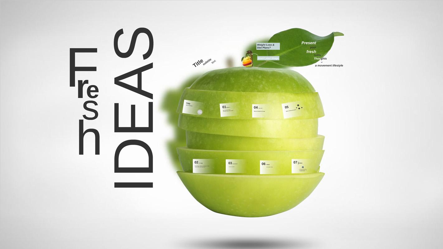 Fresh Ideas Prezi Template