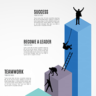 climb-to-success-career-ladder-3d-bar-graph-prezi-template