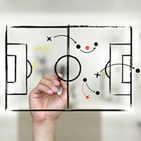 game-plan-strategy-football-draw-sketch-to-screen-prezi-template