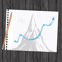uphill-battle-line-graph-arrow-sketch-business-prezi-template