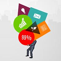 building-success-creative-colorful-businessman-graph-chart-prezi-template