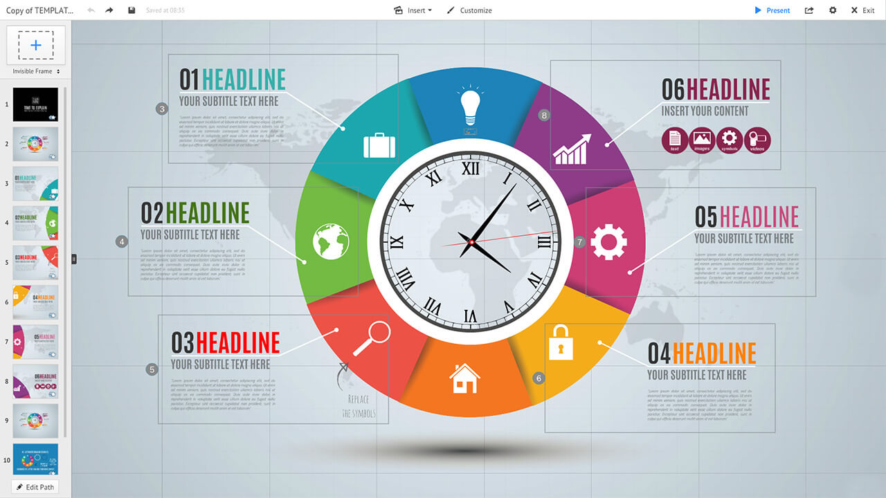 colorful-circle-clock-infographic-diagram-prezi-presentation-template