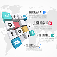 3d-squares-rectangles-creative-world-map-business-infographic-diagram-prezi-template