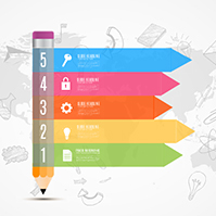 colorful-pencil-education-school-infographic-diagram-prezi-template-with-world-map-sketched-icons