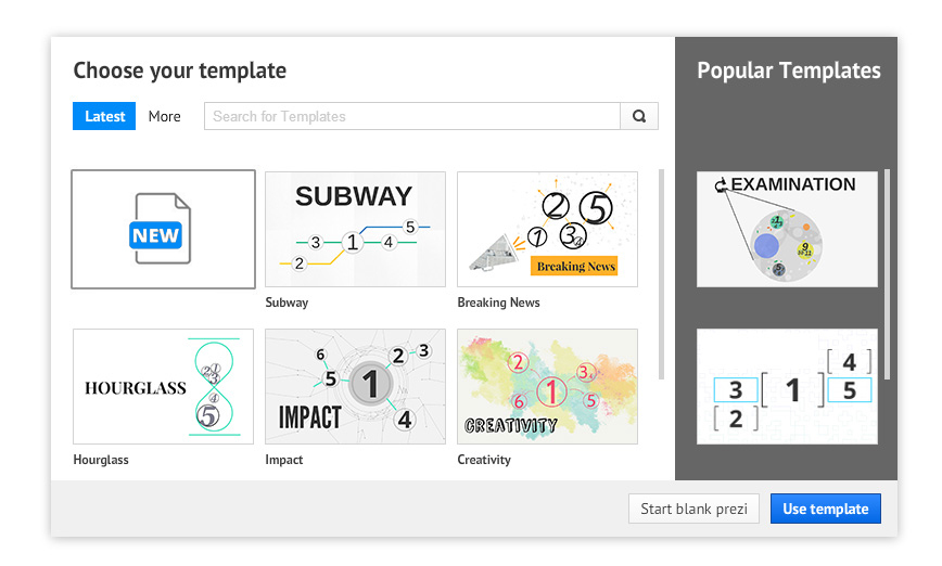 How Create Your Own Prezi Template | Prezibase