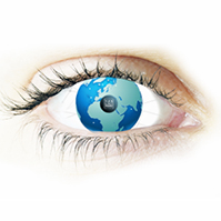 see-the-world-world-globe-3D-inside-human-eye-creative-business-vision-prezi-template