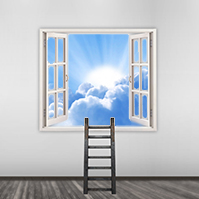window-of-opportunity-success-creative-cloud-sky-ladder-goals-in-life-prezi-template