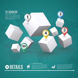 3D-white-cubes-squares-business-world-infographic-diagram-prezi-template