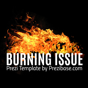 burning-issue-fire-hell-flames-prezi-template-presentation