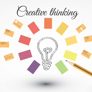 Creative thinking Prezi template